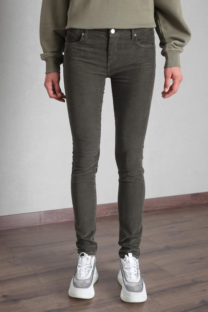 Skinny velvet trousers Intrend