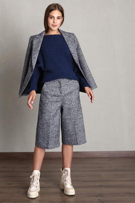 Bouclé tweed bermuda Intrend