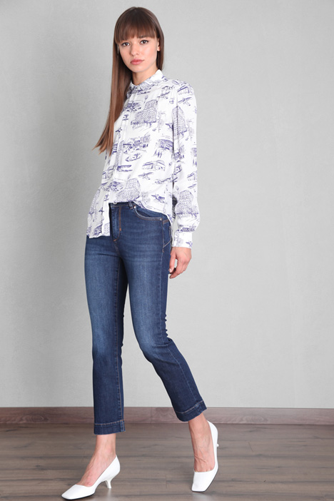 Cropped Flare Jeans Intrend