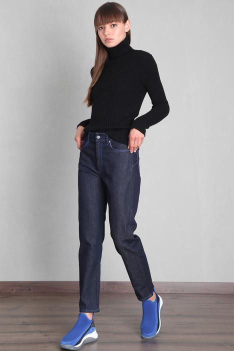 Straigth cut denim trousers Intrend