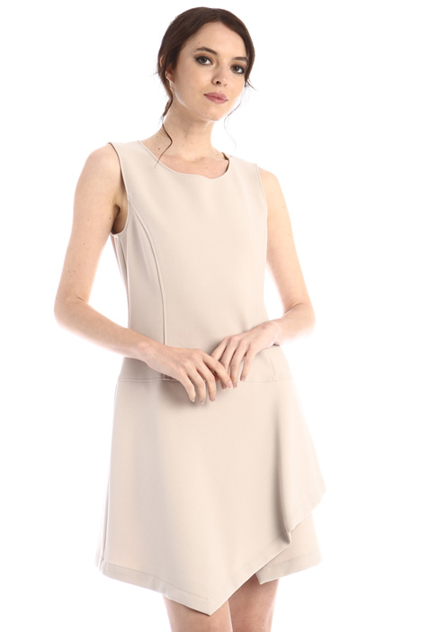 Fit and flare sleeveless dress Intrend