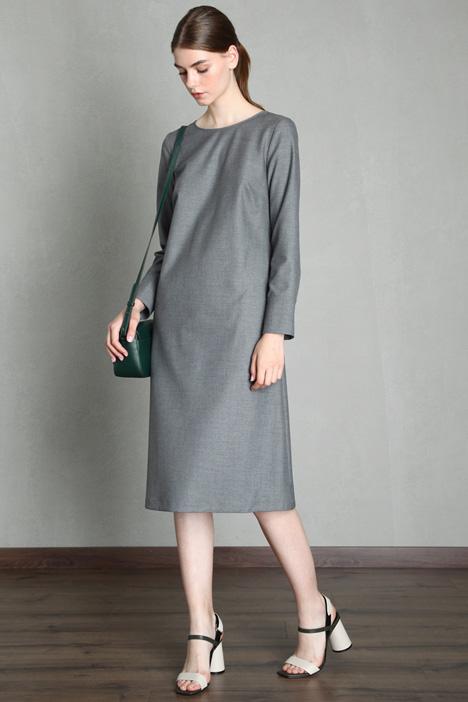 Viscose blend tunic dress Intrend