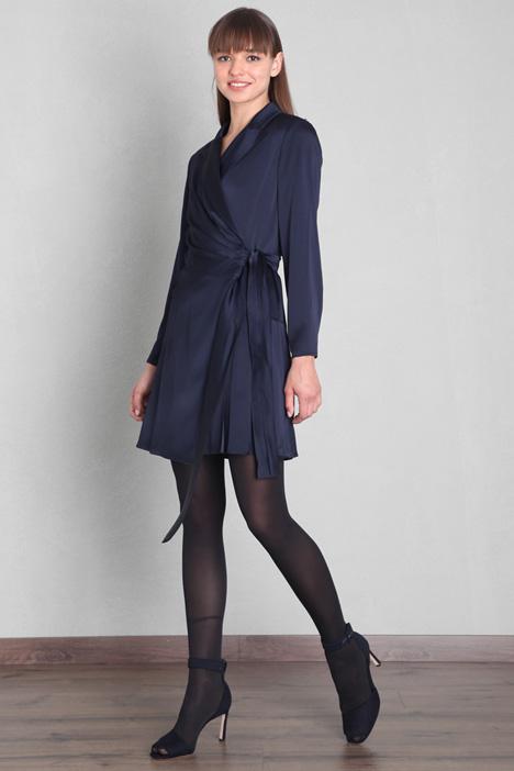 Wrap-up cady dress Intrend