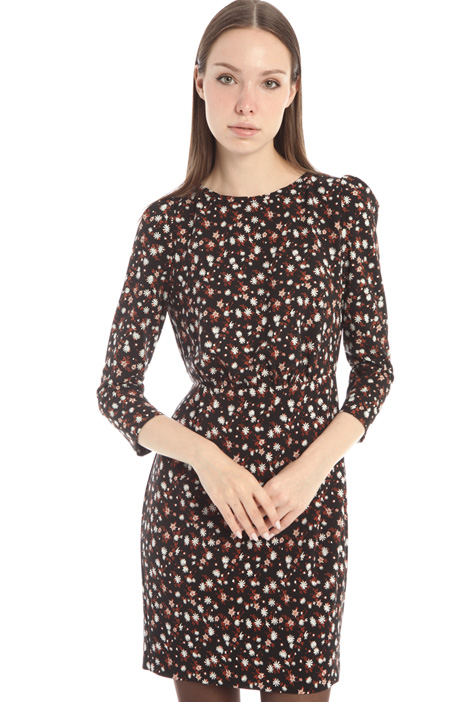 Patterned cady dress Intrend