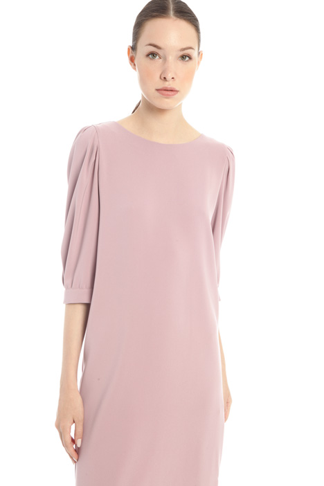 Puff sleeves dress Intrend