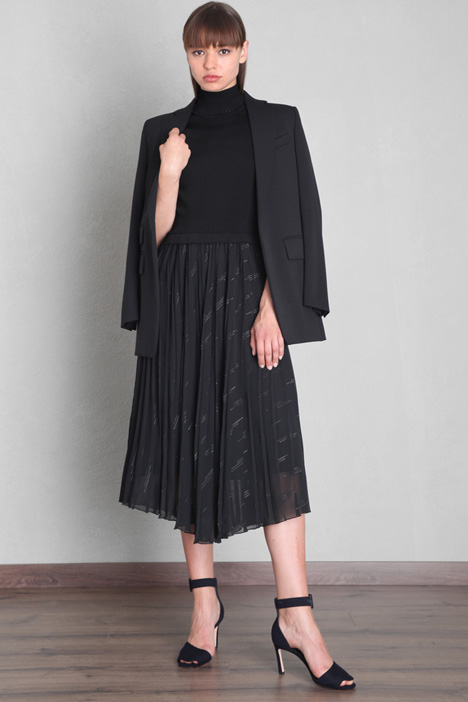 Semi-fitted knit dress Intrend