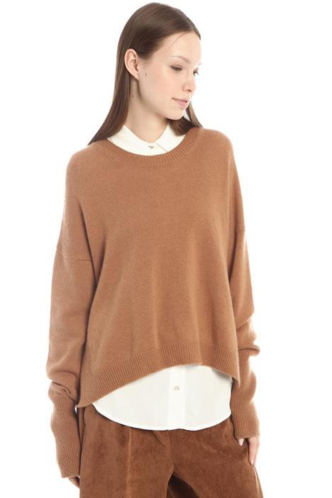 Asymmetrical wool sweater Intrend