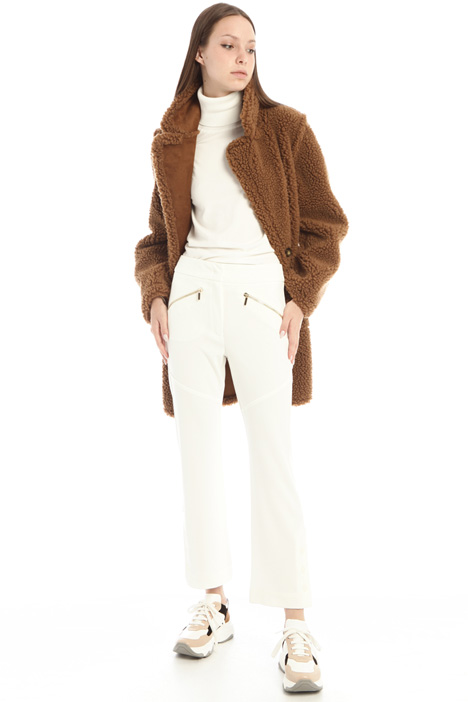 Faux shearling coat Intrend