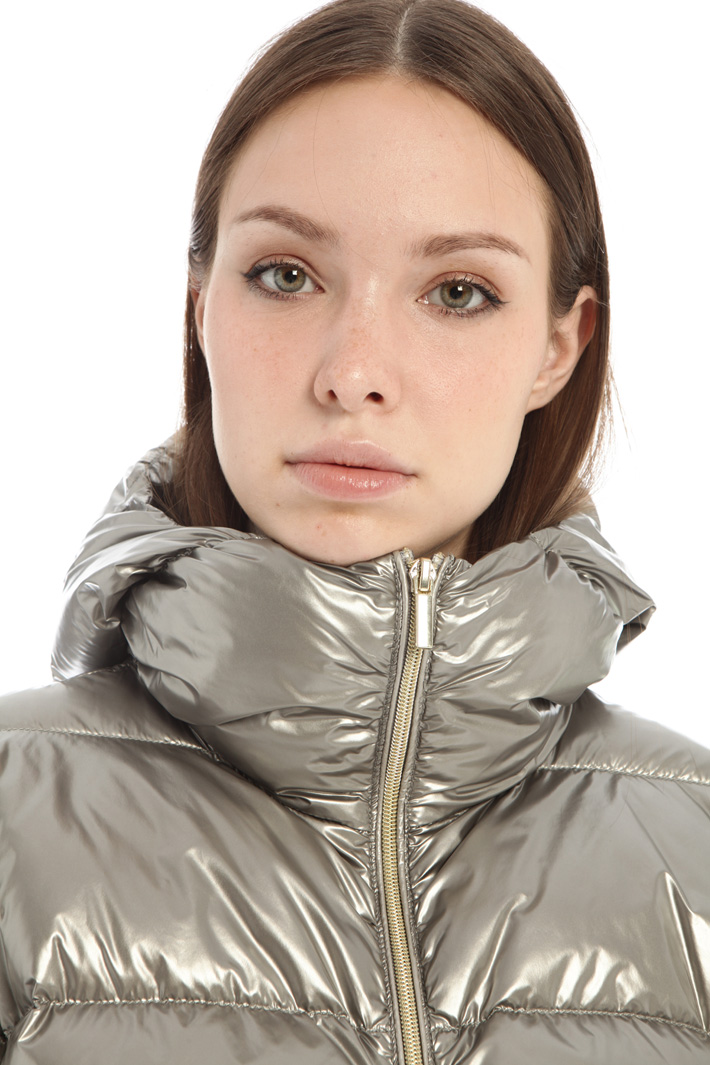 Laminated quilted jacket Intrend