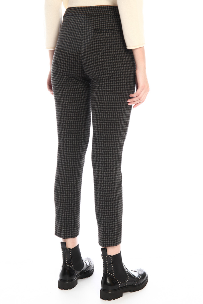 Jersey cigarette trousers Intrend