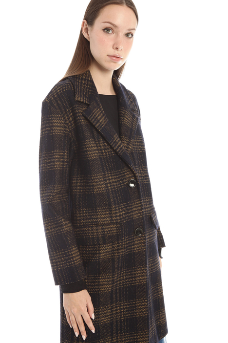Cappotto in jersey misto lana Intrend