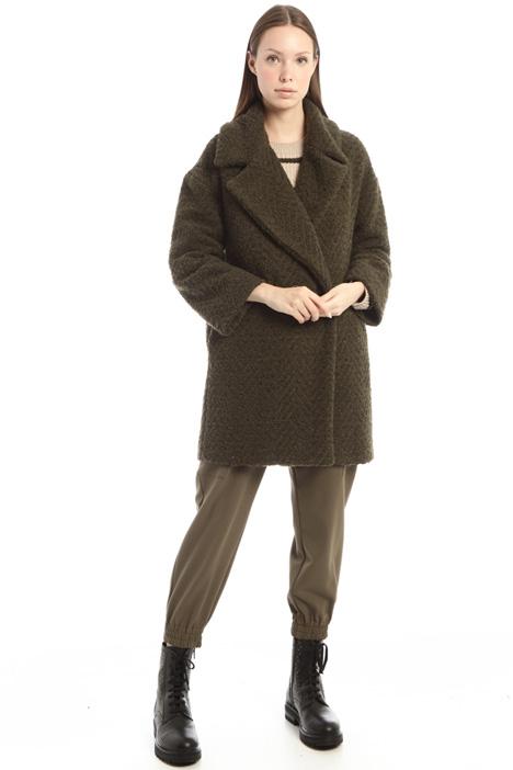 Cappotto in jersey bouclè Intrend