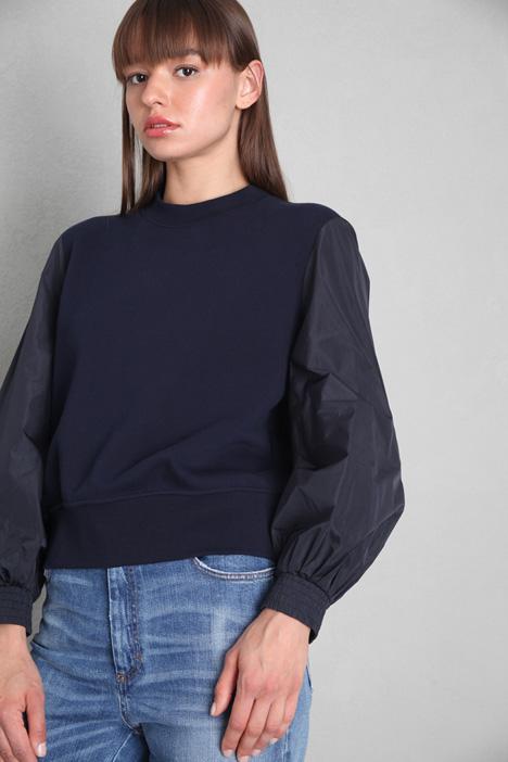 Puff sleeves sweatshirt Intrend