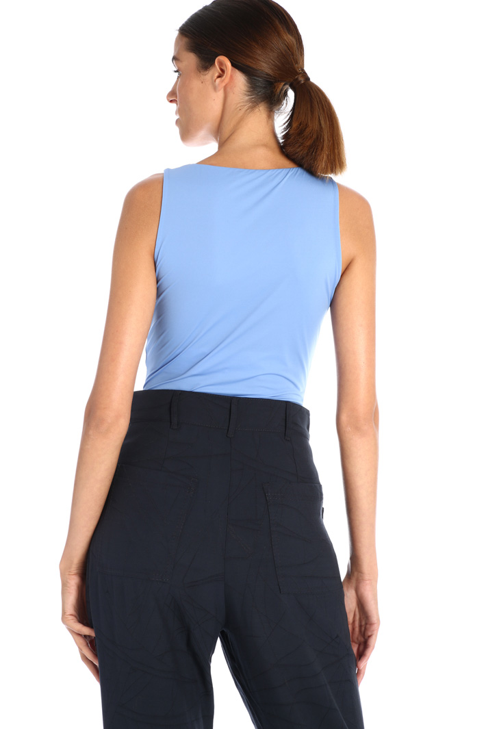 Fitted jersey bodysuit Intrend