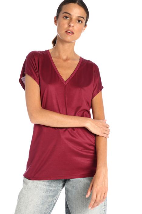 Silk jersey T-shirt Intrend