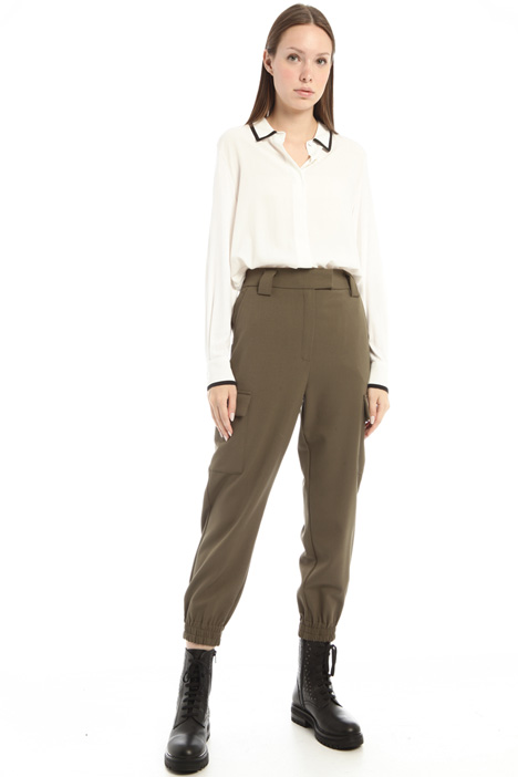 Two-tone blouse Intrend