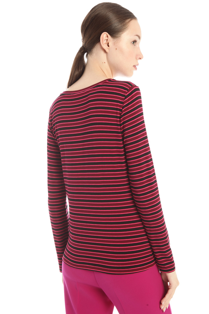 Yarn dyed jersey T-shirt Intrend