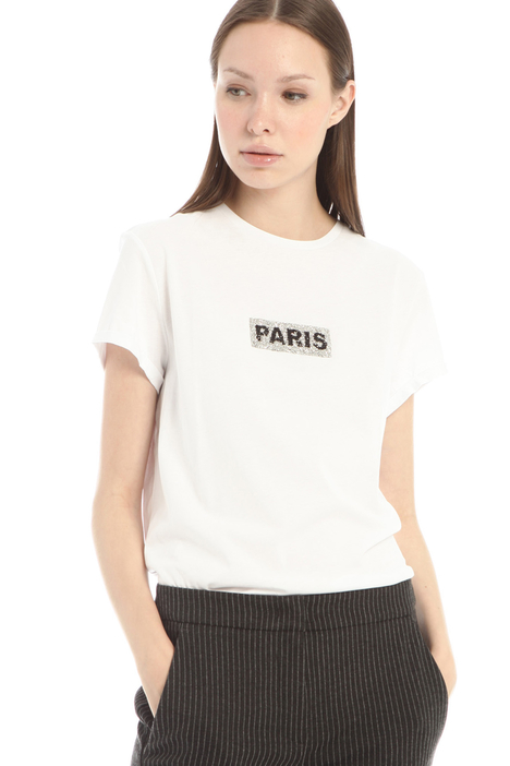 T-shirt with appliques Intrend