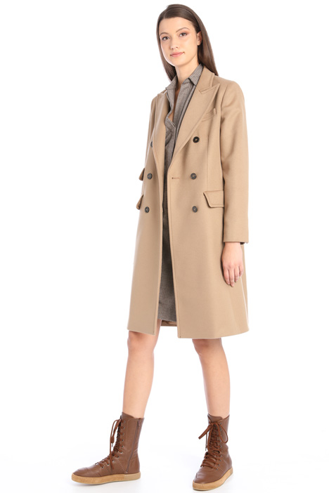 Straight drap coat Intrend