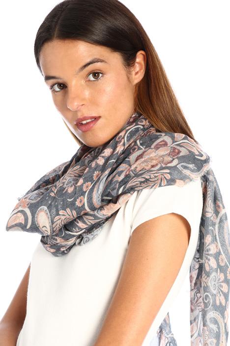 Lurex canvas scarf Intrend