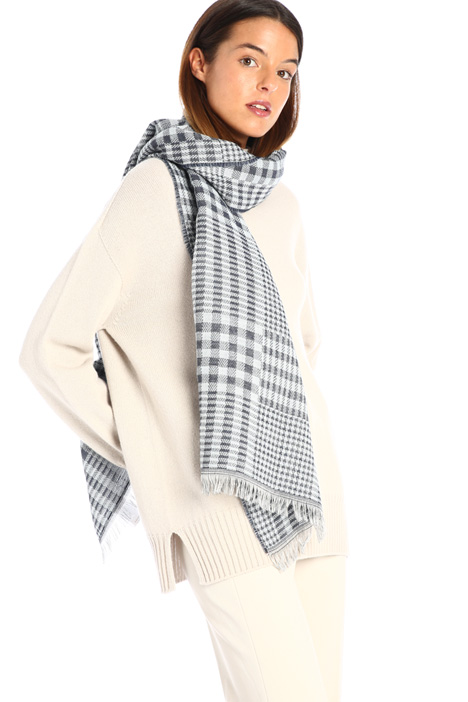 Cotton blend scarf Intrend