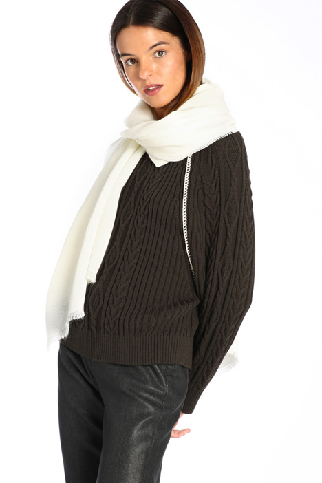 Canvas scarf Intrend