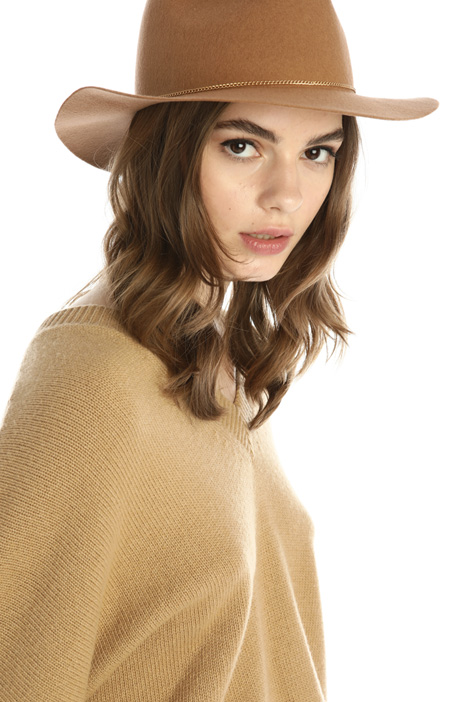 Fedora hat in wool Intrend