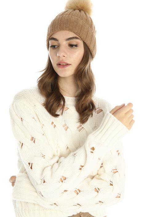 Cuffia in lana e cashmere Intrend