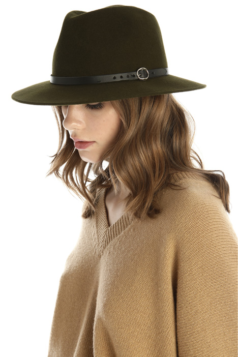 Fedora in lana Intrend