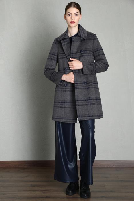 Cappotto in panno misto lana Intrend