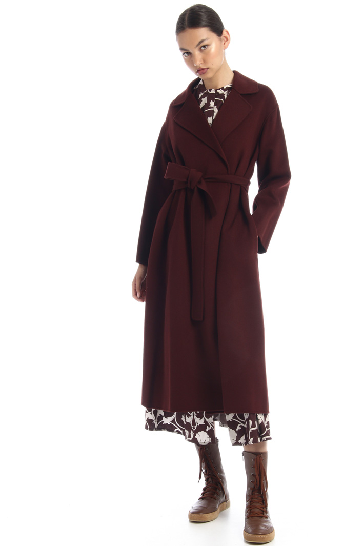 Wrap-up wool coat Intrend