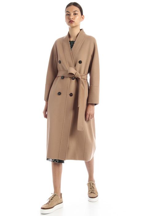 Cappotto doppiopetto in lana Intrend