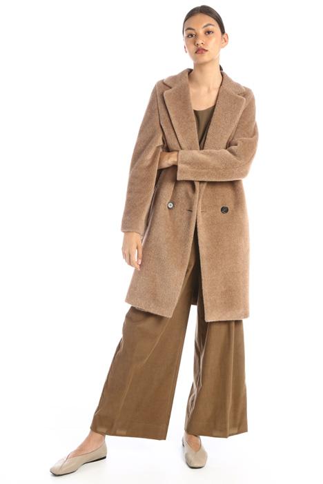 Cappotto peluche alpaca e lana Intrend