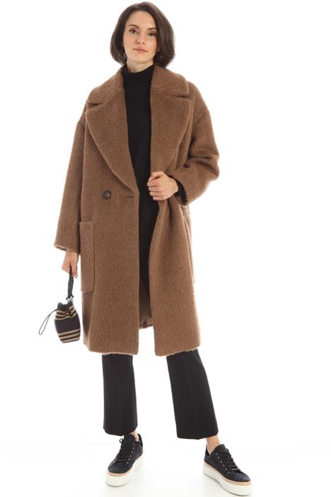Cappotto in alpaca e lana Intrend
