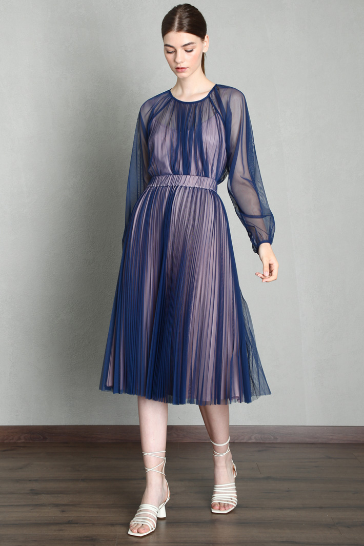 Pleated tulle skirt Intrend