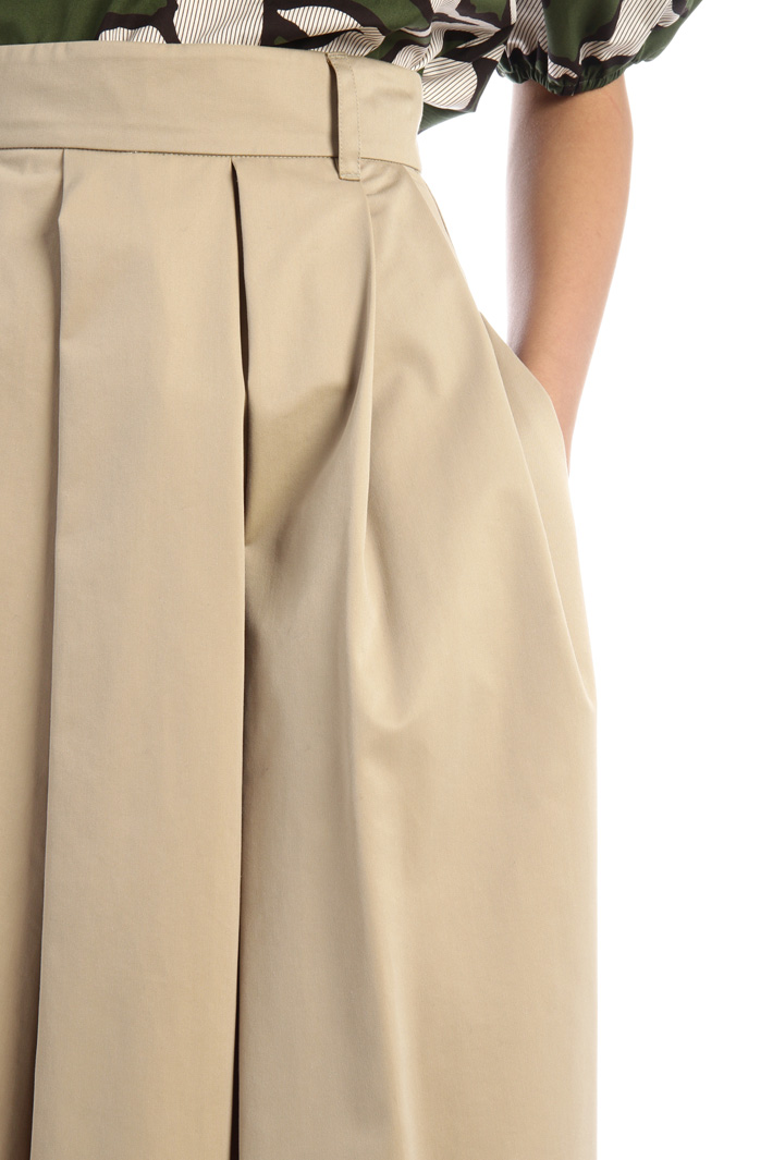 Water-resistant twill skirt Intrend
