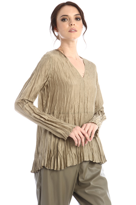 Wrinkled-effect blouse Intrend