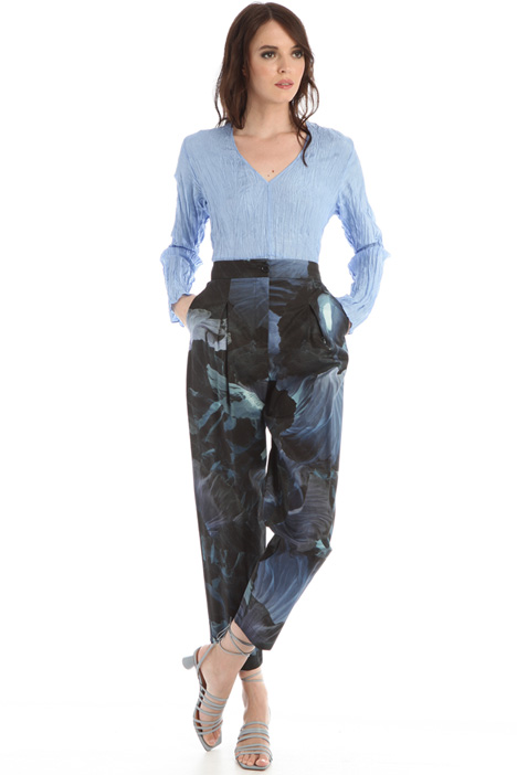 Printed baggy trousers Intrend