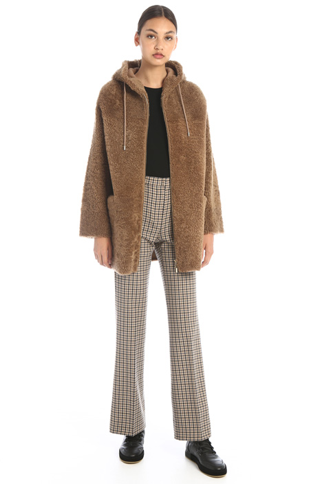 Wool blend trousers Intrend