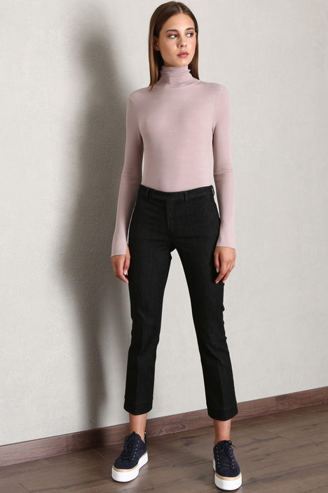 Cotton denim trousers Intrend