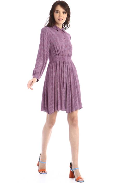 Flowy crepe dress Intrend