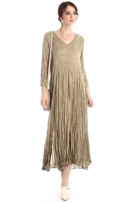 Wrinkled effect dress Intrend