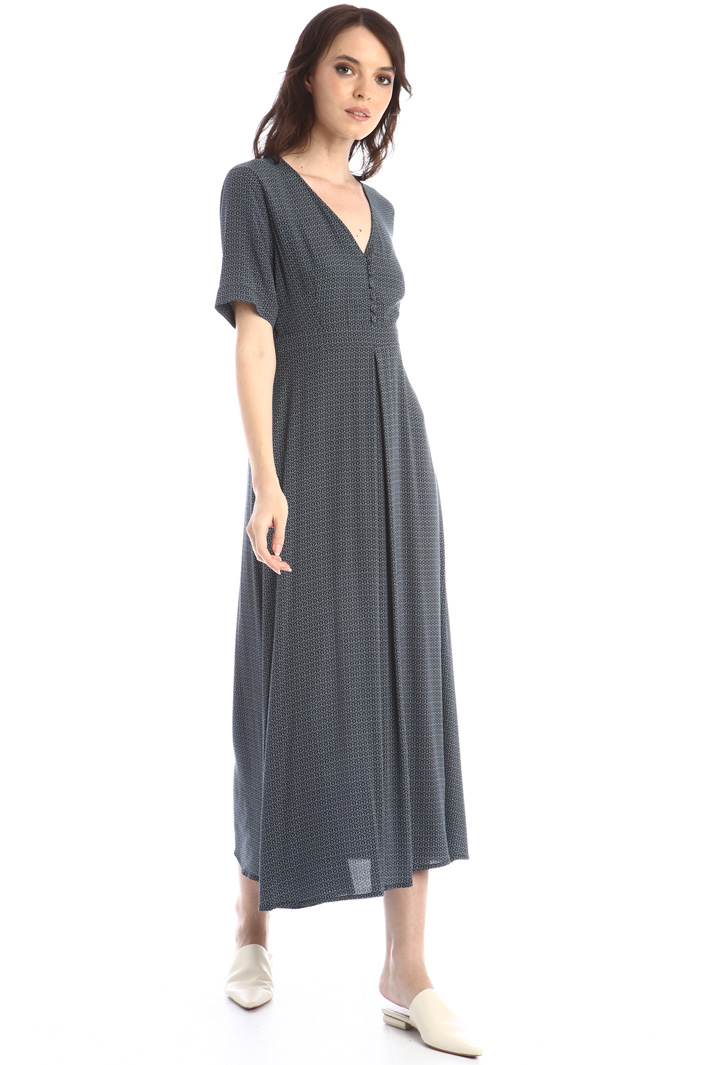Long crepe dress Intrend