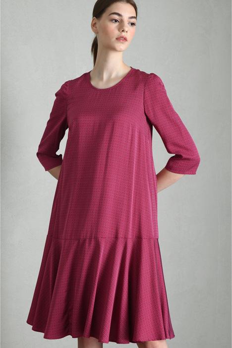 Twill tunic dress Intrend