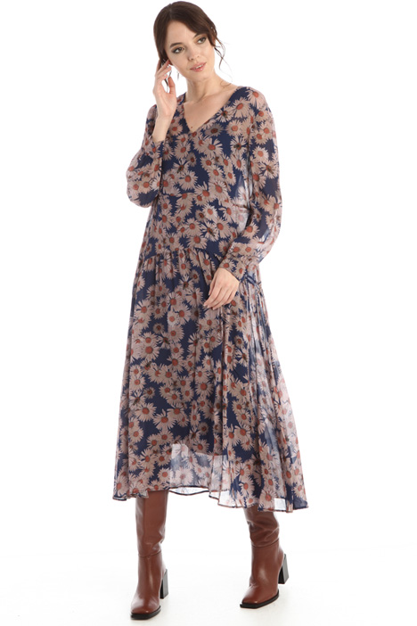 Georgette midi dress Intrend