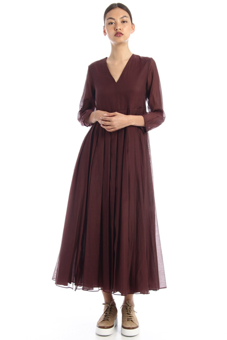 Cotton voile and silk dress Intrend