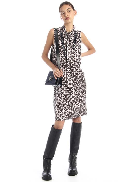 Reversible silk dress Intrend