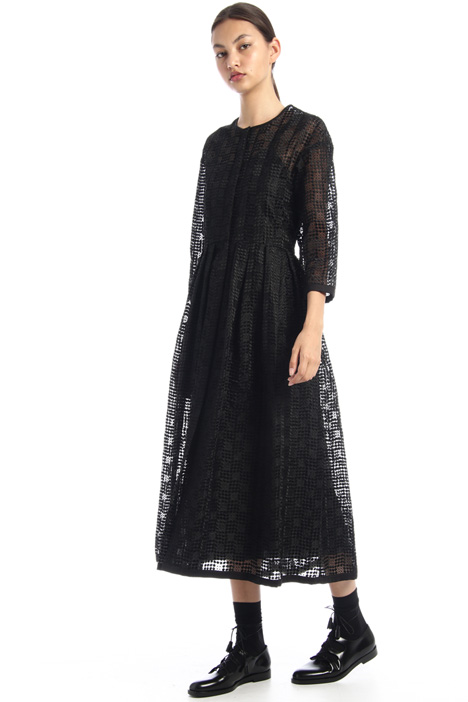 Dress in embroidered organza Intrend
