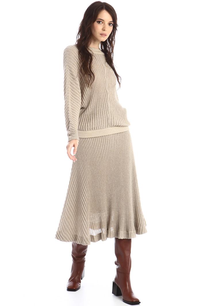 Lurex knit skirt Intrend