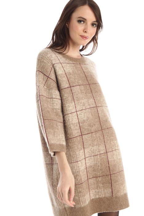 Yarn dyed knit dress Intrend